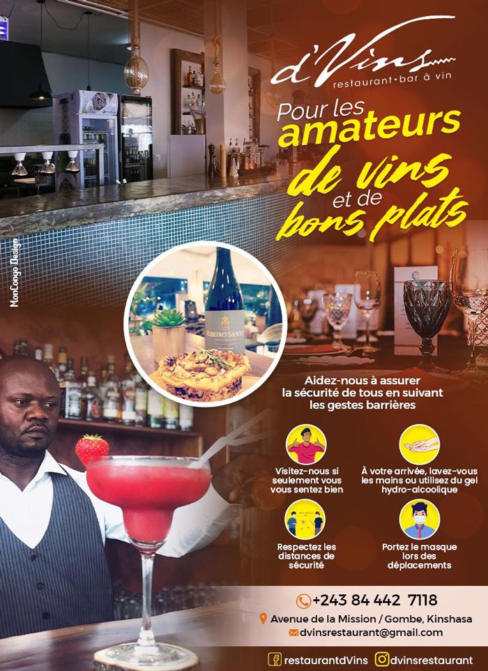D'VINS - Kinshasa - RD Congo - MonCongo