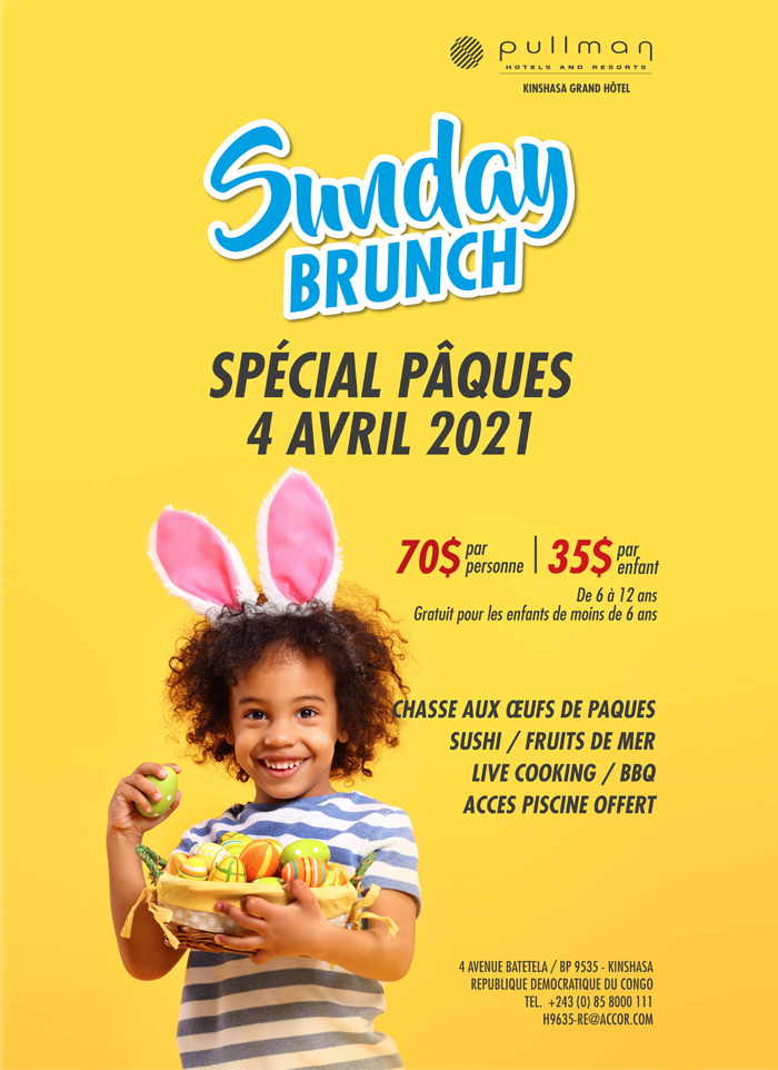 Pâques Hotel Pullman Kinshasa - Easter in Kinshasa